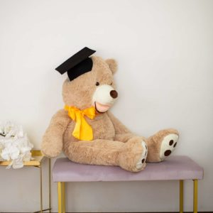giant graduation teddy bear